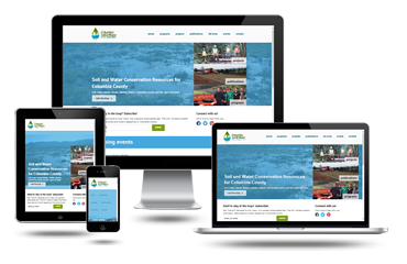 Portland Web Design Columbia Soil and Water Conservation District Responsive Website Design