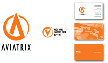 Aviation Logo Design and Identity Package for Aviatrix