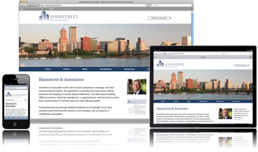 Hamstreet and Associates Professional Web Design in Portland, Oregon