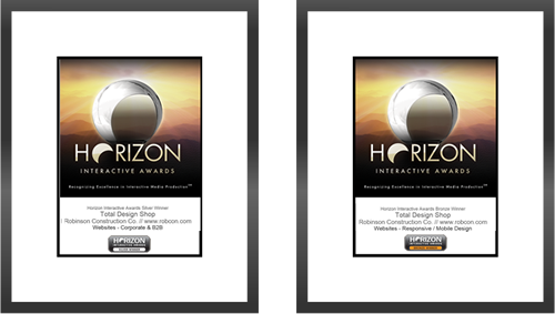 Horizon Interactive Awards Silver and Bronze Awards for Responsive Web Design